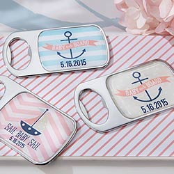 Nautical Baby Themed Epoxy Bottle Opener (Available Personalized)