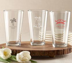 Personalized Pint Glass 16 oz.